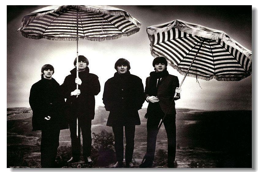 The Beatles Silk Wall Poster 36x24 18x12 inch Big Room Pop Music Box Art Prints Mural Beatle Paul John Lennon (076)(China (Mainland))