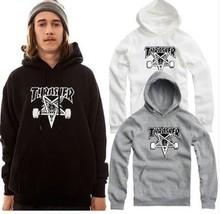 Thrasher Hoodie Brand M-4XL Hip Hop Sudaderas Men Mujer Streewear Couple Lover Sweatshirt Thrasher Hoodie Brand