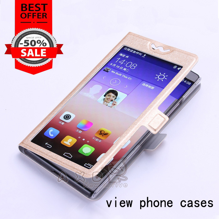 case For Samsung Galaxy Ace S5830 view window pu leather Flip Cover Case for Samsung S5830 case with stand holder funcation(China (Mainland))