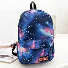 New Stylish 3D Starry Sky Print School Bags For Girls boys Designer Teenage Floral Schoolbag Casual Children Backpack(China (Mainland))