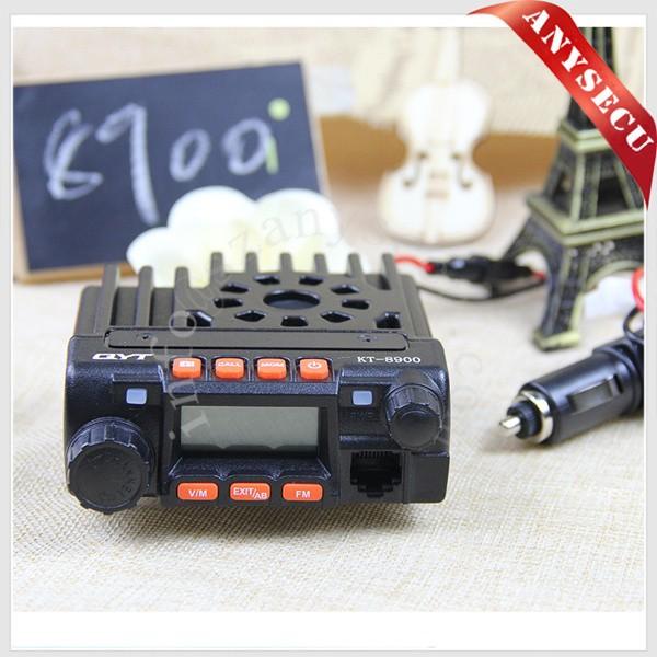 TWO piece uhf vhf mobile radio KT-8900 dual band car radio walkie talkie For Entertainment(China (Mainland))