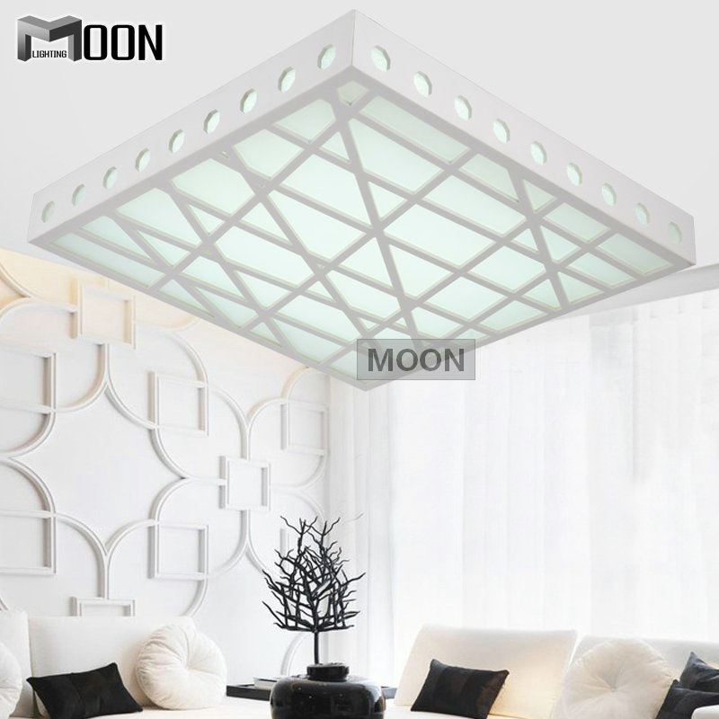 Creative LED Ceiling Lights Acrylic Wood Carving Water Cube Ceiling lamp Living Room Bedroom Kitchen LED Fitting Free Shipping<br><br>Aliexpress