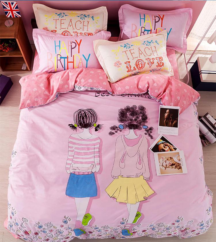 achetez en gros fille couette en ligne des grossistes fille couette chinois. Black Bedroom Furniture Sets. Home Design Ideas