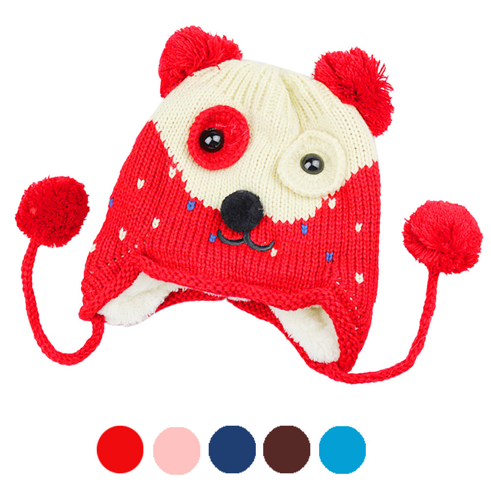 New Arrival Cappellini Neonato Baby Beanie Infant Earflap Knitted Warm Winter Hats Baby Boy Cap(China (Mainland))