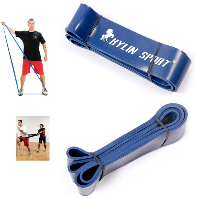 workout elastic resistance strength power bands fitness equipment for wholesale and free shipping kylin sport(China (Mainland))