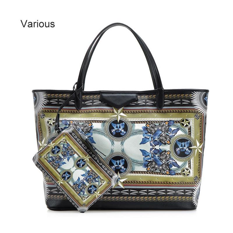 Fashion Women Printing Leather Handbags Flower Print Bag Bolsos Mujer Moda Large Capacity Tote Bohemia Ladies Bag Bolsa Atacado(China (Mainland))
