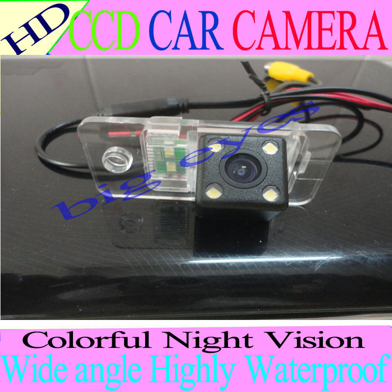 CAR REAR VIEW REVERSE COLOR CCD/170 DEGREE/WATERPROOF/WITH REFERENCE LINE CAMERA FOR AUDI A3 A4 A5 A6 A6L A8 Q7 S4 RS4 S5 Q5(China (Mainland))
