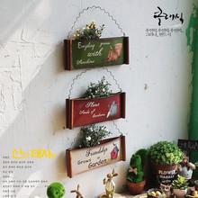 American Style Metal Hanging Vase Wall Decoration(China (Mainland))