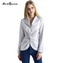 Casual Kink Women Tops 2017 Fashion White Shirt Women's Clothing New Long Sleeve Blouse Women Clothes Turn Down Collar Blusa(China (Mainland))