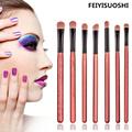 New Hot 7 Pcs Blending Pencil Foundation Eye shadow Makeup Brushes Eyeshadow Eyeliner Brush