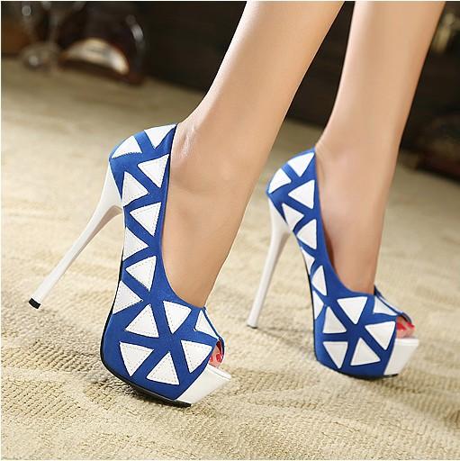 2013 fashion thin heels t women's shoes 14cm High-heeled open toe three color single princess size 4-9