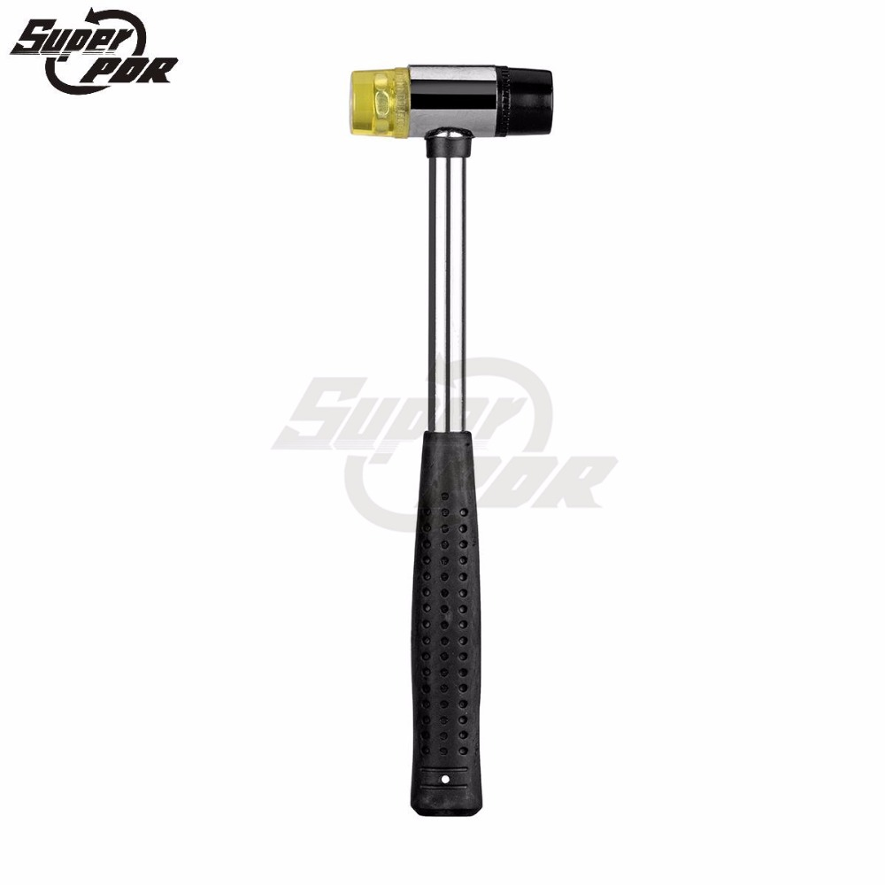 Super PDR Paintless Dent Removal Tools Brand New High Quality PDR Tools Rubber Hammer Auto Body Dent Repair(China (Mainland))