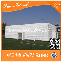 2016 Hot Commercial Inflatable Cube Tent,Used Outdoor Advertising Or Wedding Giant Cheap Inflatable Tent(China (Mainland))