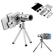 Buy Phone Lens Kit 12x Zoom Telescope Telephoto Lens Tripod Bluetooth Control Camera Lentes Fish eye Wide Angle Macro Lenses for $23.87 in AliExpress store