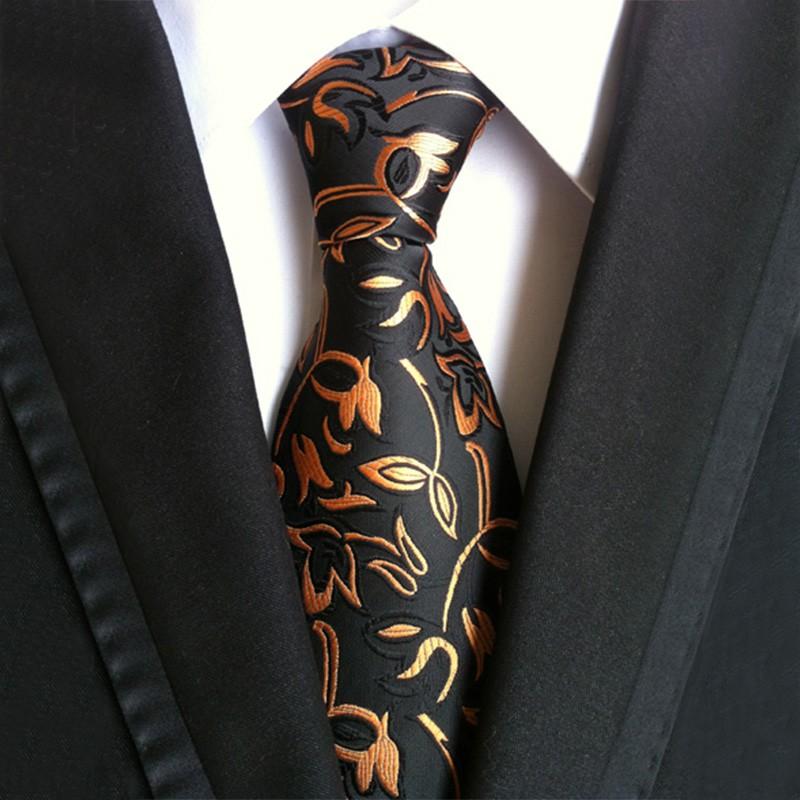Mantieqingway-Marque-Hommes-de-Costumes-Cravate-En-Soie-De-Polyester-Plaid-Rayé-Cravates-Floral-Gravata-pour