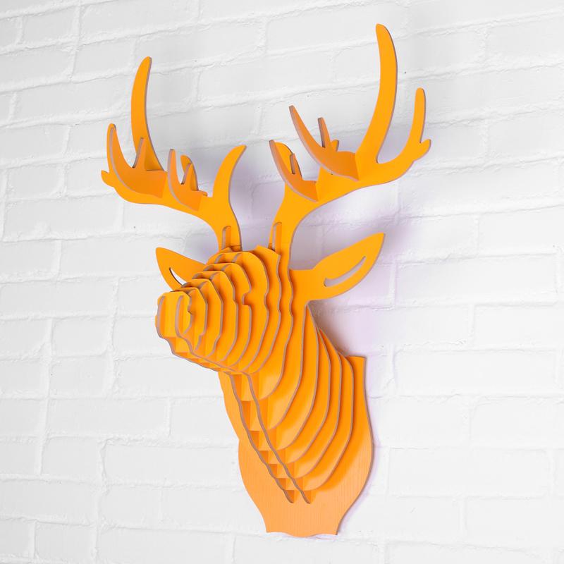 Bois sculptures d 39 animaux promotion achetez des bois for Decoration murale nordique