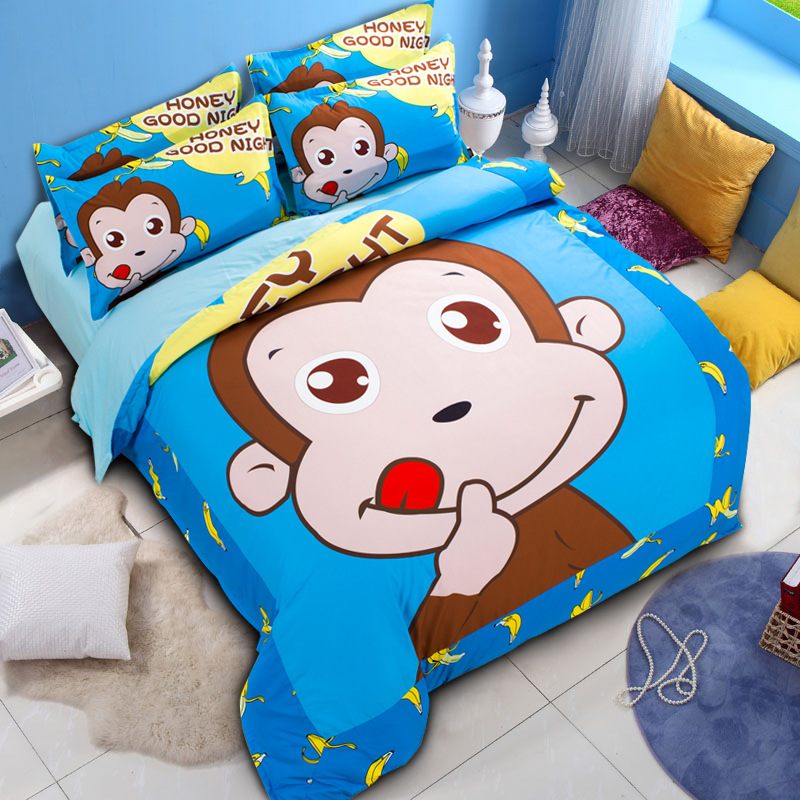 King Size Monkey Bed Sheets