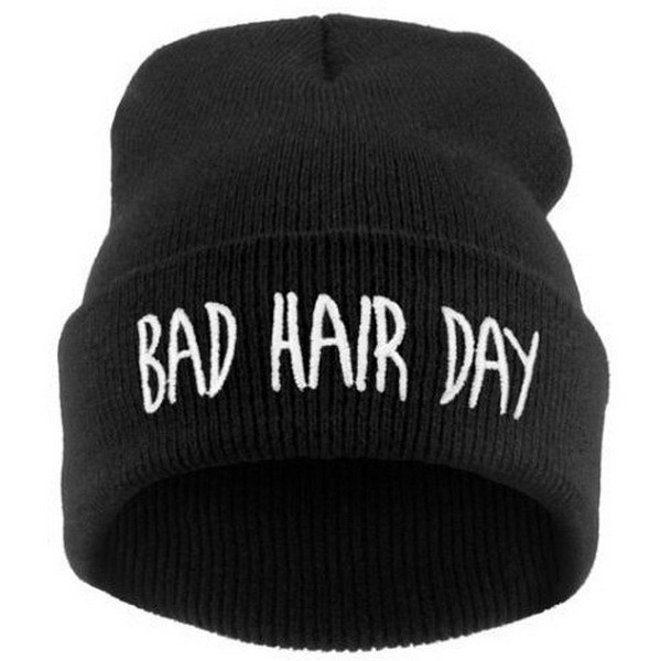 1pc/lot Sport Winter Bad Hair Day Beanie Cap Fashion Women Cotton Blend Beanie Knitted Winter Hiphop Hats Caps RD671503(China (Mainland))