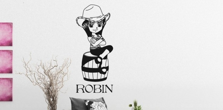 Wall stickers for kids rooms robin compra lotes baratos for Pegatinas pared ninos