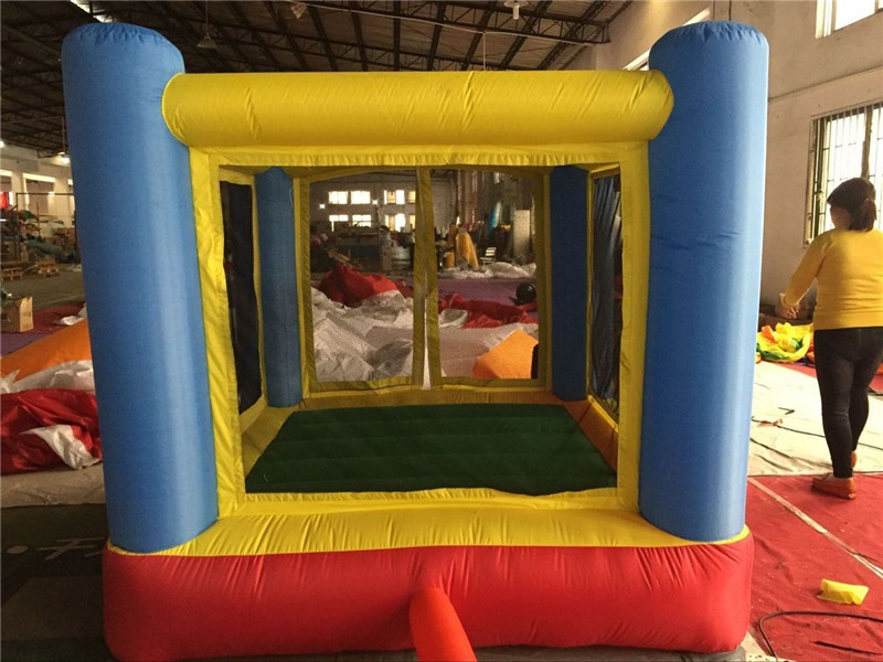 Free Shipping Inflatable Bouncer With Slide,Jumping House Bouncing Castle For Children Air Blower Included(China (Mainland))