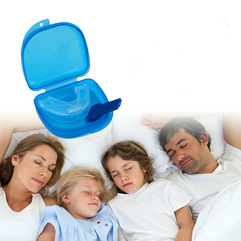 STOP SNORING Anti Snore Soft Silicone Mouthpiece Apnea Guard Bruxism Tray Night Sleeping Aid Stopper Mouthguard Stop Snoring