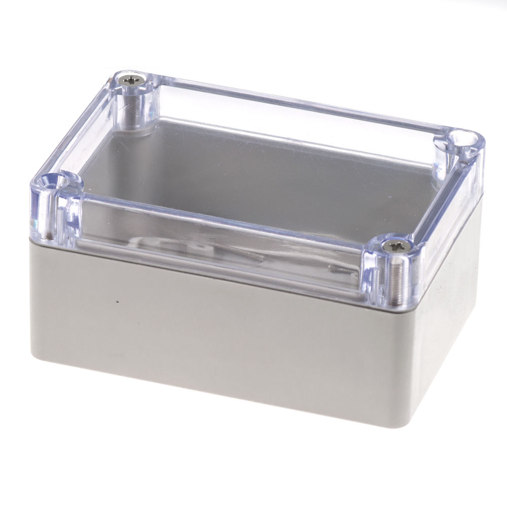 Clear Plastic Enclosure (Large) 100mm x 68mm x 50mm(China (Mainland))