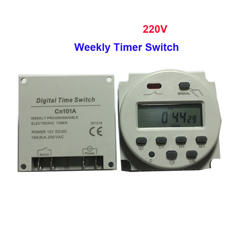 Digital Power Switch : Free shipping piece ac v a lcd display digital