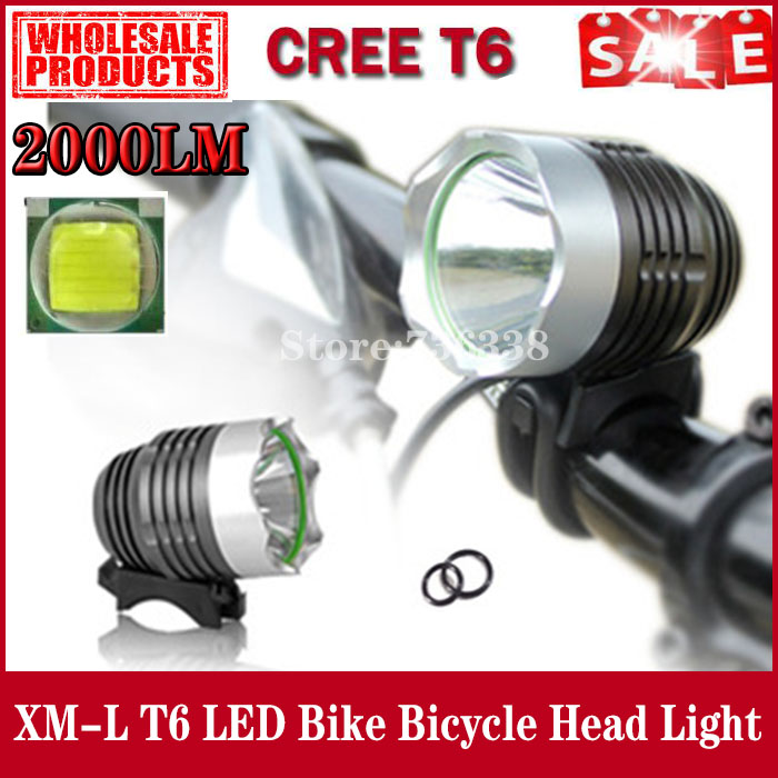 Фара для велосипеда POCKETMAN 2000 CREE xm/l T6 BIKE LIGHT