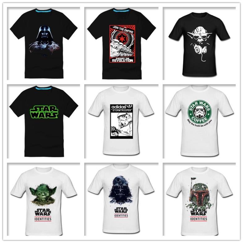 star wars darth vader male 100% cotton short-sleeve T-shirt 2014 Hot band Products $14.5 Free Shipping(China (Mainland))