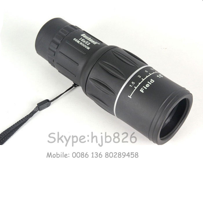 Dual Focus Zoom high definition Travel Monocular Telescope, 16X52, Day night vsion - Gamei Co.,Ltd store
