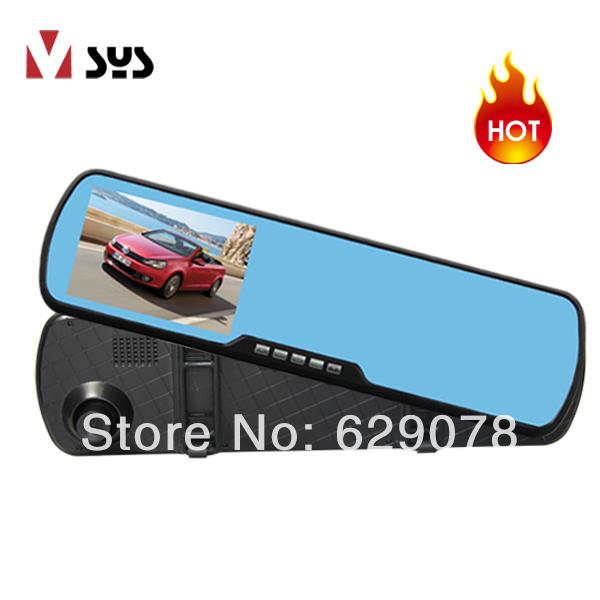 2014 Best HD Car Black Box Video Recorder x300 video mirror(China (Mainland))