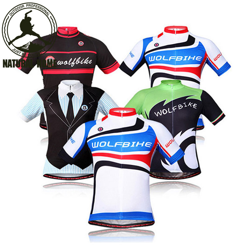 [NaturalHome] Brand outdoor mtb bike bicycle cycling jersey wear men riding clothes clothing shirts man sport sportswear jerseys(China (Mainland))