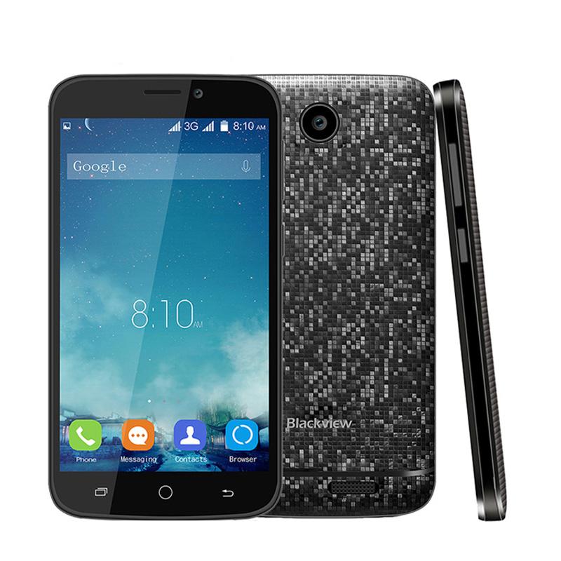 "Original BLACKVIEW A5 4.5"" IPS QHD MTK6580 quad core Android 6.0 3G WCDMA smartphone 5MP 1GB RAM 8GB ROM dual sim GPS Smart Wake(China (Mainland))"