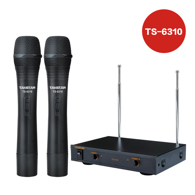 Victory TS - 6310 wireless microphone yituo 2 KTV karaoke microphone, a bargain price
