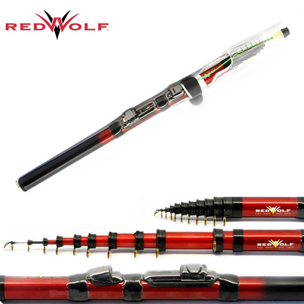 Redwolf brand rwrs200 1 8m 2 1m 2 4m 2 7m 3m 3 6m short for Short fishing rods
