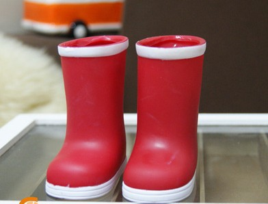 Doll accessories, American girl doll  red  boots  fits for 18