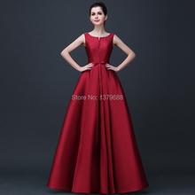 2016 neue ankunft elegante abendkleider V-eröffnung zurück lace-up kleider formales partei-kleid vestidos de festa(China (Mainland))