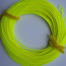 FREE SHIPPING 100 FT Weight Forward Floating Fly Fishing Line 2 Welded Loops  Floating Fishing Line Fly Lines WF-4F WF-5F  WF-6F(China (Mainland))