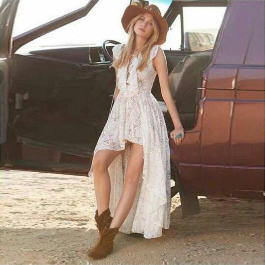 2016 Fashion Ladies Elegant V-neck Bandage Lace Crotch Ruffle Cutout Irregular Sexy One-piece Dress FemaleОдежда и ак�е��уары<br><br><br>Aliexpress