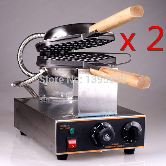 2PCS/Lot Free Shipping By DHL FY-6 Electric Waffle Pan Muffin Machine Eggette Wafer Waffle Egg Makers Kitchen Machine<br><br>Aliexpress