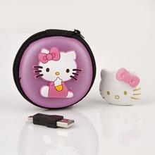 Mini Hello Kitty MP3 Music Player Clip Players Support TF Card Earphone&Mini USB&Hello Earphone Bag - Bestcrow Technology Co. Ltd store