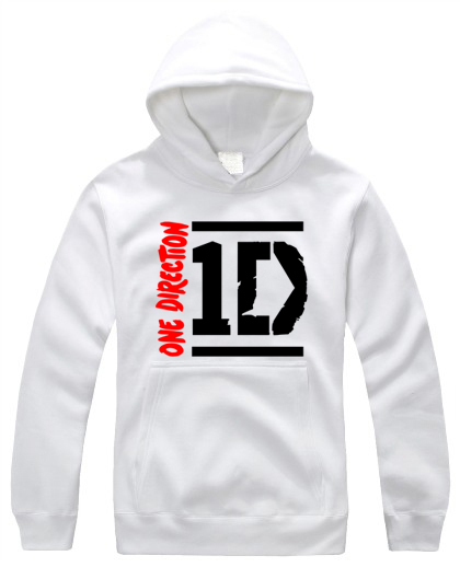 one direction HOODIE niall zayn liam louis one direction 1d hoodie punk rap(China (Mainland))