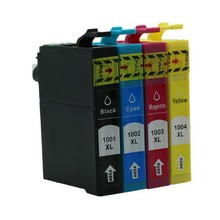 20 PCS 5 SET T1001 T1002 T1003 T1004 with chip compatible inkjet Ink cartridges for