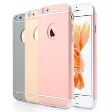 Luxury 2 in 1 Hybird Cases Brand New Matte Back Cover for Apple iPhone 6 6S Plus 5.5 inch Case Mobile Phone Accessories Cases