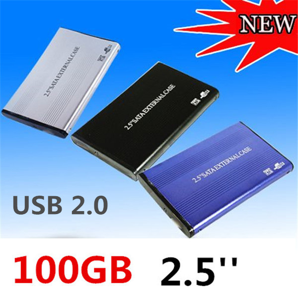 Brand New HOT 2.5inch 1TB 1024GB USB2.0 SATA External Storage Hard Disk Drive HDD Case Box Enclosure Converter Adapter Connector(China (Mainland))