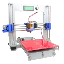 2015 Upgraded Quality Full Aluminum High Precision Reprap Prusa i3 DIY 3d Printer Kits High Resolution LCD Free