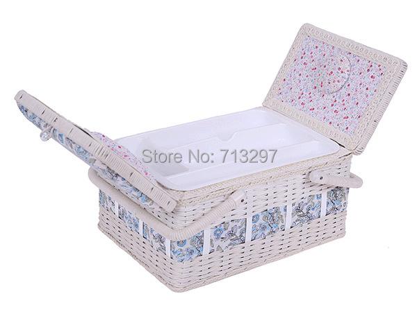 2014 Sewing basket , Storage Basket, jewelry box(China (Mainland))