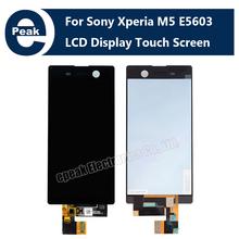 ЖК-Дисплей С Сенсорным Экраном Дигитайзер Ассамблеи Для Sony Для Xperia M5 E5603 E5606 E5653 Новый Ремонт Части наборы инструментов замена(China (Mainland))
