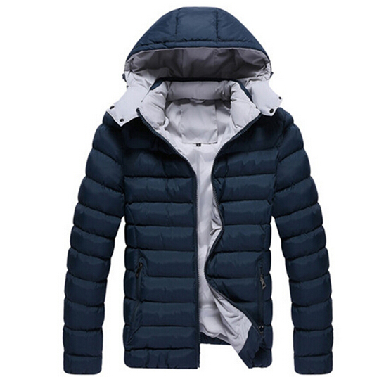 Plus Size New Brand 2015 Winter Jacket Men High Quality Down Nylon Men Clothes Winter Outdoor