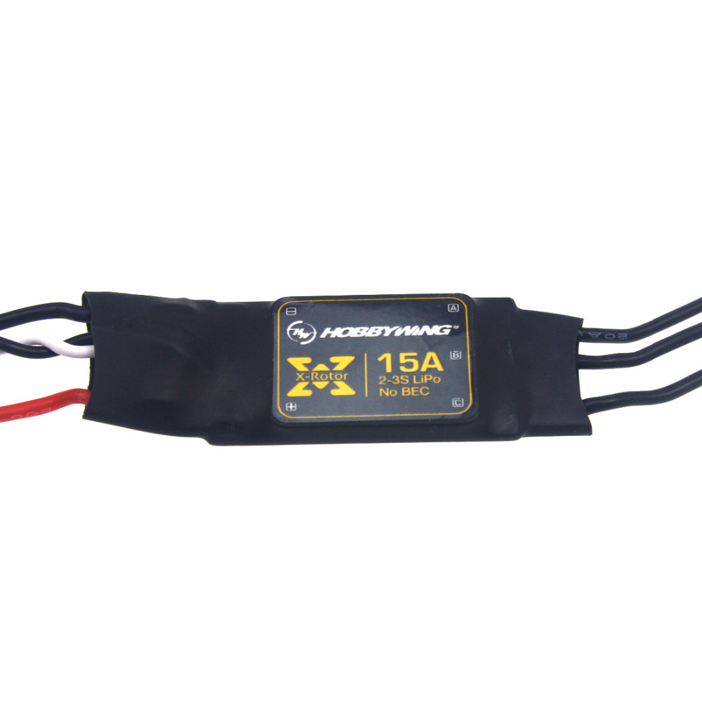 Hobbywing XRotor 15A Brushless ESC Speed Controller for Quadrocopter Multi-rotor RC Aircraft Drone F16024